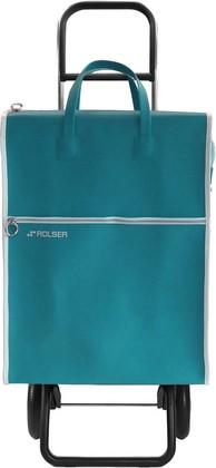 Сумка-тележка хозяйственная зелёная Rolser RG LIDER LID001verde