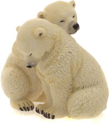 """Статуэтка """"Полярные медведи - братья"""", 13см Widdop Bingham WS0831-TA"""