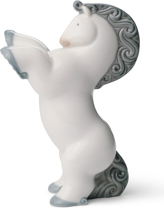 Статуэтка фарфоровая Пони 1 (Rearing Pony) 12см NAO 02001645