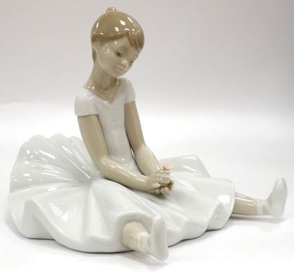 Статуэтка фарфоровая Мечтая о балете (Dreamy Ballet) 14см NAO 02001456
