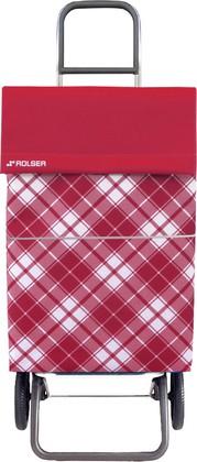 Сумка-тележка хозяйственная красная Convert Rolser DML021rojo
