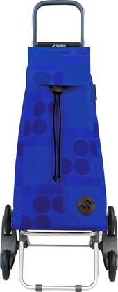 Сумка-тележка хозяйственная синяя Rolser RD6 MOUNTAIN MOU041azul