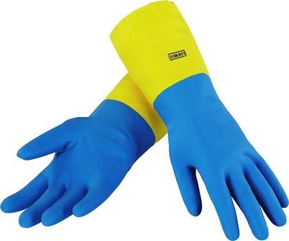 Перчатки жёсткие для очень загрязнённых поверхностей, размер S Leifheit Ultra Strong 40032