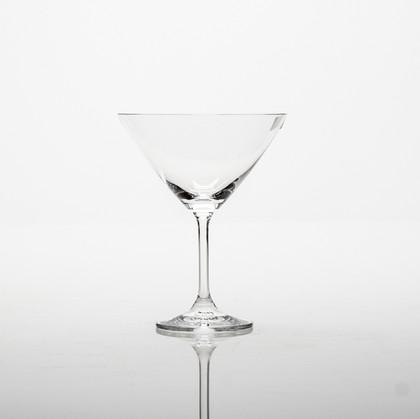 Фужеры для мартини Клара 280мл, 6 шт Crystalite Bohemia 4S415/280