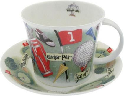 """Чайная пара для завтрака """"Гольф"""" 500мл Roy Kirkham XGOLF1110"""