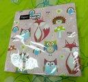 Салфетки для декупажа Лиса и друзья, 33x33см, 3 слоя, 20шт Paper+Design 21836