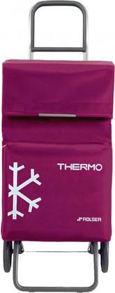 Термосумка-тележка хозяйственная сиреневая Rolser RG THERMO TER037bassi