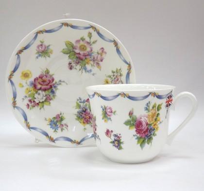 Чайная пара для завтрака Дрезден, 500мл Roy Kirkham CODRES1100