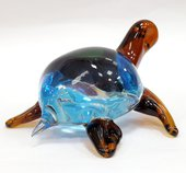 Фигурка стеклянная Морская черепаха 16х15х8см Top Art Studio ZB1538-TA