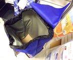 Сумка-тележка хозяйственная синяя с рисунком Rolser JOY JET JET029azul-lois