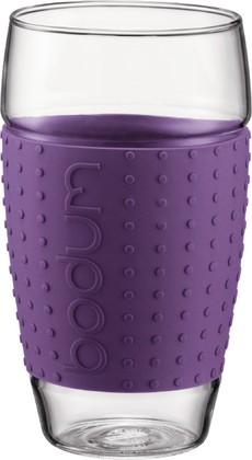 Бокалы 2шт. 600мл, фиолетовые Bodum PAVINA 11167-278