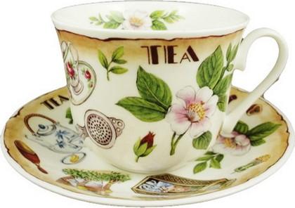 Чайная пара для завтрака Время пить чай 500мл Roy Kirkham COXTEAT1100