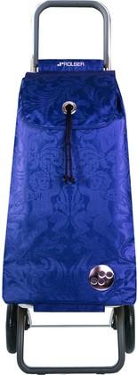 Сумка-тележка хозяйственная синяя Rolser LOGIC RG PAC036azul