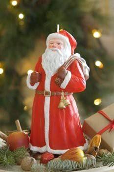 "Свеча ""Дед Мороз"" 9х30cм Bartek Candles 5907602654035"