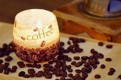 """Свеча """"Кофе"""" стакан 8х7cм Bartek Candles 138061"""