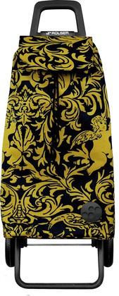 Сумка-тележка хозяйственная чёрная с золотом Rolser RG MOUNTAIN MOU111oro/negro