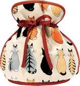 """Чехол на чайник с подвязками """"Кошки в ожидании"""" Cats in Waiting Ulster Weavers UWMC7CAW07"""