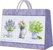 """Пакет подарочный """"Лаванда и базилик"""" 33.5x26.5x13см Paw AGB016806"""