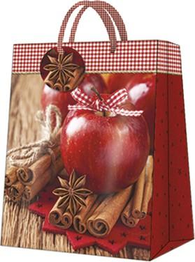 """Пакет подарочный """"Корица и яблоко"""" 26.5x33.5x13см Paw AGB028405"""