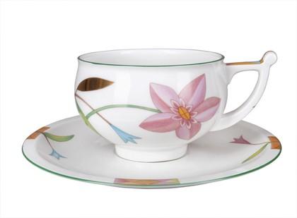 Чашка с блюдцем Таруса. Лауренсия, ф. Кострома ИФЗ 81.23920.00.1