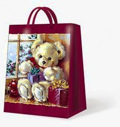 """Paw SWEET TEDDY BEAR Пакет подарочный """"Мишка Тэдди"""", 26,3x33x13,5см, артикул AGB013605"""