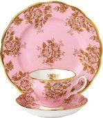 Чайная тройка Золотые Розы 1960е Royal Albert 40017590