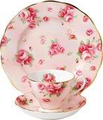 Чайная тройка Цветение Роз 1980-е Royal Albert 40017535