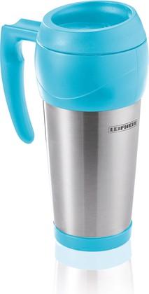 Термокружка нерж. сталь, голубой, 0.5л Lim.Edition Leifheit 25786