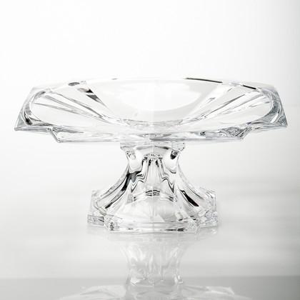 Тарелка на ножке Метрополитен 33см Crystalite Bohemia 6KE74/1/99U18/330