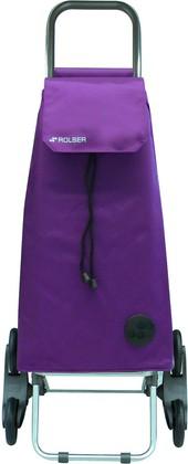 Сумка-тележка хозяйственная фиолетовая Rolser RD6 MOUNTAIN MOU004more
