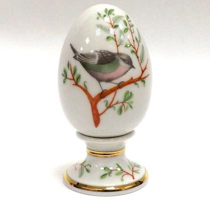 Яйцо фарфоровое на подставке Пеночка, ф. Нева ИФЗ 80.65671.00.1