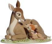Статуэтка фарфоровая Оленёнок Бэмби (Bambi) 15см NAO 02001710
