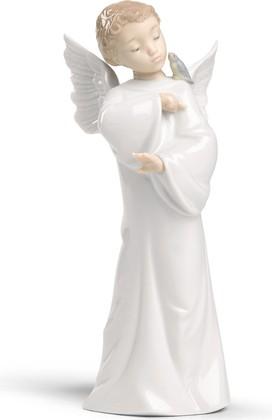 Статуэтка фарфоровая Ангел-хранитель I (Guardian Angel) 19см NAO 02001596