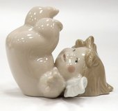Статуэтка фарфоровая Кувыркающийся ангелочек (Roly-Poly!) 6см NAO 02005019