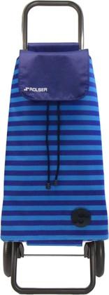 Сумка-тележка хозяйственная синяя Rolser RG MOUNTAIN MOU086azul