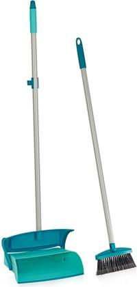 Набор для пометания с длинной ручкой и совком с контейнером для мусора Leifheit Sweper Set 41405