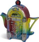 "Чайник заварочный ""Чайный дискобармен"" мини (музыкальный аппарат Jukebox) The Teapottery 4436"