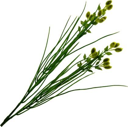 """Floralsilk Искусственные цветы """"Зелёное просо в траве"""", длина 66см, артикул 01323GR"""