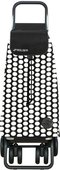 Сумка-тележка хозяйственная складная бело-чёрная Rolser LOGIC TOUR PAC043blanco/negro