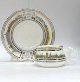Чашка с блюдцем Невские берега, ф. Билибина ИФЗ 81.16102.00.1
