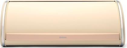 Хлебница из стали миндального цвета с крышкой Brabantia 380327