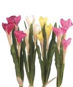 """Цветок искусственный """"Крокус"""" 3 головки, микс, 36см Floralsilk 11090ASS"""