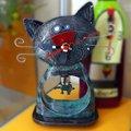 """Часы настольные """"Кошки-мышки"""" (Cat & Mouse), 24см Enesco C102"""