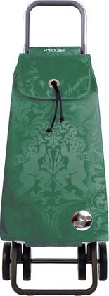 Сумка-тележка хозяйственная зелёная Rolser LOGIC DOS+2 PAC035verde