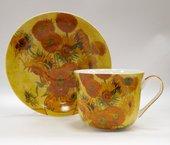 Чайная пара Импрессионисты Ван Гог Подсолнухи 350мл The Leonardo Collection LP92765