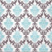 Салфетки Орнамент, 33x33, 20шт Paw SDL096800