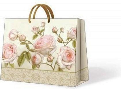 "Paw BEAUTY ROSES Пакет подарочный ""Романтичная роза"", 33x26,5x13,5см, артикул AGB014106"