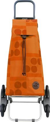 Сумка-тележка хозяйственная оранжевая Rolser RD6 MOUNTAIN MOU041mandarina