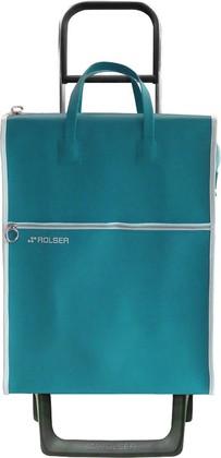 Сумка-тележка хозяйственная зелёная Rolser JOY-1800 MNL001verde