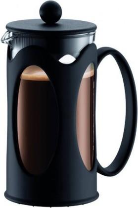 Кофейник с прессом, Kenya, 0,35л, чёрный, 10682-01